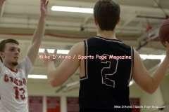 Gallery CIAC Boys Basketball; Focused on Farmington 48 at Conard 49 - Photo # (114)