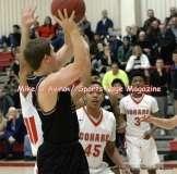 Gallery CIAC Boys Basketball; Focused on Farmington 48 at Conard 49 - Photo # (130)