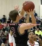 Gallery CIAC Boys Basketball; Focused on Farmington 48 at Conard 49 - Photo # (131)
