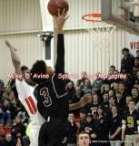 Gallery CIAC Boys Basketball; Focused on Farmington 48 at Conard 49 - Photo # (133)