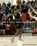 Gallery CIAC Boys Basketball; Focused on Farmington 48 at Conard 49 - Photo # (150)