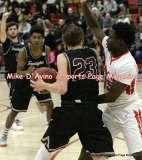 Gallery CIAC Boys Basketball; Focused on Farmington 48 at Conard 49 - Photo # (151)