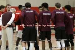 Gallery CIAC Boys Basketball; Focused on Farmington 48 at Conard 49 - Photo # (19)