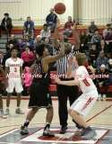 Gallery CIAC Boys Basketball; Focused on Farmington 48 at Conard 49 - Photo # (48)