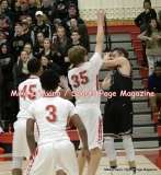 Gallery CIAC Boys Basketball; Focused on Farmington 48 at Conard 49 - Photo # (52)