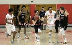 Gallery CIAC Boys Basketball; Focused on Farmington 48 at Conard 49 - Photo # (58)