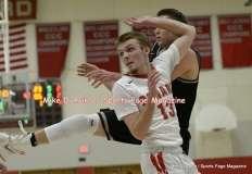 Gallery CIAC Boys Basketball; Focused on Farmington 48 at Conard 49 - Photo # (80)