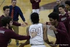 Gallery CIAC Boys Basketball; Focused on Farmington - Farmington 48 vs. Bulkeley 57 - Photo # (35)
