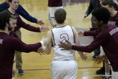 Gallery CIAC Boys Basketball; Focused on Farmington - Farmington 48 vs. Bulkeley 57 - Photo # (42)