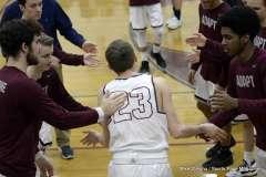 Gallery CIAC Boys Basketball; Focused on Farmington - Farmington 48 vs. Bulkeley 57 - Photo # (45)