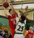 Gallery CIAC Boys Basketball; Focused on Wolcott JV 62 at Wilby JV 57 - Photo # (30)