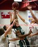 CIAC Boys Basketball; Focused on Wolcott JV vs. New Milford JV - Photo # (154)