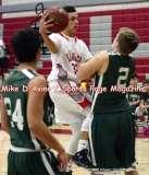 CIAC Boys Basketball; Focused on Wolcott JV vs. New Milford JV - Photo # (18)