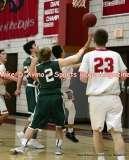 CIAC Boys Basketball; Focused on Wolcott JV vs. New Milford JV - Photo # (21)