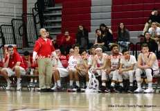 CIAC Boys Basketball; Focused on Wolcott JV vs. New Milford JV - Photo # (67)