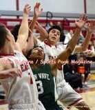 CIAC Boys Basketball; Focused on Wolcott JV vs. New Milford JV - Photo # (7)
