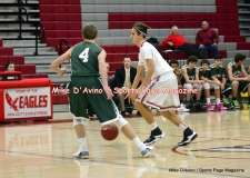 CIAC Boys Basketball; Focused on Wolcott JV vs. New Milford JV - Photo # (95)