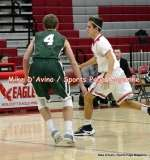 CIAC Boys Basketball; Focused on Wolcott JV vs. New Milford JV - Photo # (96)