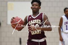 CIAC Boys JV Basketball - Crosby 64 vs Sacred Heart 63 - Photo (27)