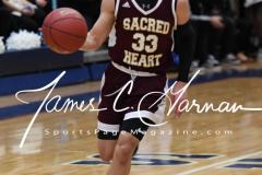 CIAC Boys JV Basketball - Crosby 64 vs Sacred Heart 63 - Photo (28)