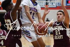 CIAC Boys JV Basketball - Crosby 64 vs Sacred Heart 63 - Photo (38)