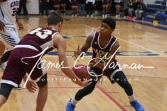 CIAC Boys JV Basketball - Crosby 64 vs Sacred Heart 63 - Photo (4)