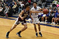 CIAC Boys JV Basketball - Crosby 64 vs Sacred Heart 63 - Photo (59)