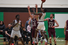 CIAC Boys Basketball - NVL Finals - #1 Sacred Heart 75 vs. #3 Torrington 54 - Photo (3)