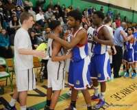CIAC Boys Basketball NVL Tournament SF's - #2 Naugatuck 65 vs. #3 Crosby 80 (126)