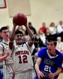 Gallery CIAC Boys Basketball: Portland 55 vs. East Hampton 67