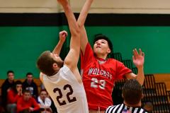 CIAC Boys Basketball: Torrington 58 vs. Wolcott 56 - Photo #129