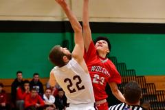 CIAC Boys Basketball: Torrington 58 vs. Wolcott 56 - Photo #130