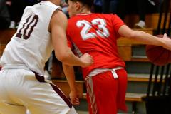 CIAC Boys Basketball: Torrington 58 vs. Wolcott 56 - Photo #141