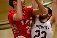 CIAC Boys Basketball: Torrington 58 vs. Wolcott 56 - Photo #146