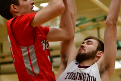 CIAC Boys Basketball: Torrington 58 vs. Wolcott 56 - Photo #147