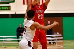CIAC Boys Basketball: Torrington 58 vs. Wolcott 56 - Photo #154