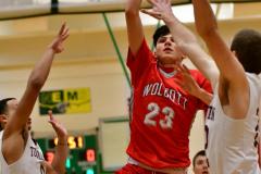 CIAC Boys Basketball: Torrington 58 vs. Wolcott 56 - Photo #164