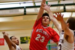 CIAC Boys Basketball: Torrington 58 vs. Wolcott 56 - Photo #165