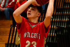 CIAC Boys Basketball : Torrington 58 vs. Wolcott 56 - Photo #175