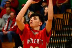 CIAC Boys Basketball: Torrington 58 vs. Wolcott 56 - Photo # 176