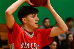 CIAC Boys Basketball: Torrington 58 vs. Wolcott 56 - Photo # 179
