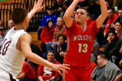 CIAC Boys Basketball: Torrington 58 vs. Wolcott 56 - Photo # 181