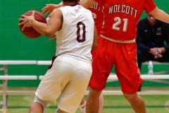 CIAC Boys Basketball: Torrington 58 vs. Wolcott 56 - Photo # 185