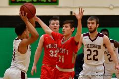 CIAC Boys Basketball: Torrington 58 vs. Wolcott 56 - Photo # 186