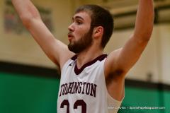 CIAC Boys Basketball: Torrington 58 vs. Wolcott 56 - Photo # 190