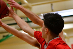 CIAC Boys Basketball: Torrington 58 vs. Wolcott 56 - Photo # 194