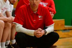 CIAC Boys Basketball: Torrington 58 vs. Wolcott 56 - Photo # 195