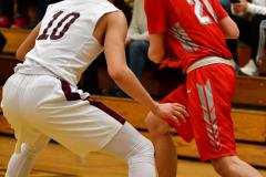 CIAC Boys Basketball: Torrington 58 vs. Wolcott 56 - Photo # 196