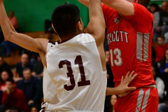 CIAC Boys Basketball : Torrington 58 vs. Wolcott 56 - Photo #208