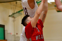CIAC Boys Basketball: Torrington 58 vs. Wolcott 56 - Photo # 212
